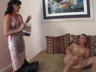 stepsister teases cock in chasitty