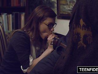 TEENFIDELITY - Schoolgirl Alaina Dawson..