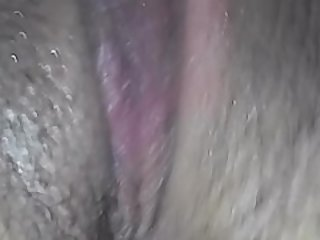 My sexy girlfriend plays with her..