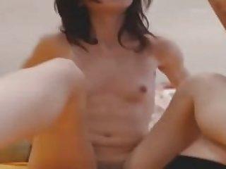 petite lesbische Jugendliche auf Webcam